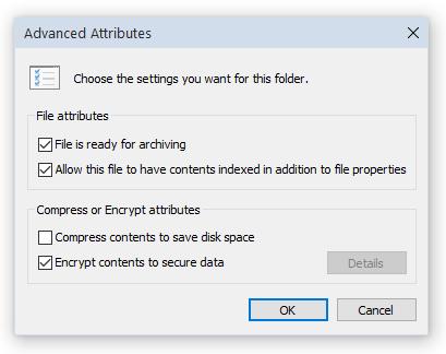 NTFS Encryption