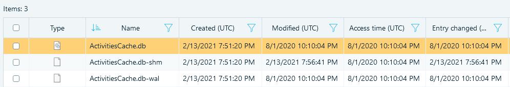 How To Analyze Windows 10 Timeline With Belkasoft Evidence