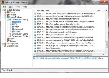 Windows 7 Belkasoft Browser Analyzer Professional 2.0 B50 full