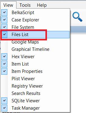File System Explorer